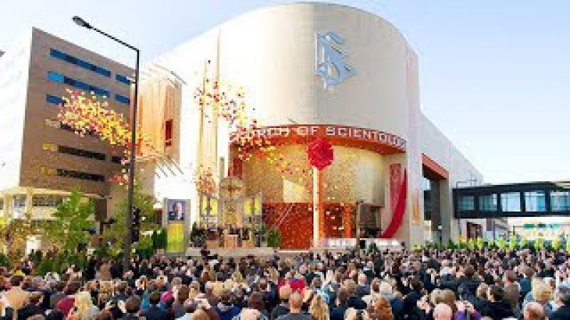 Саентология в городах-близнецах, США - официальная церемония открытия церкви