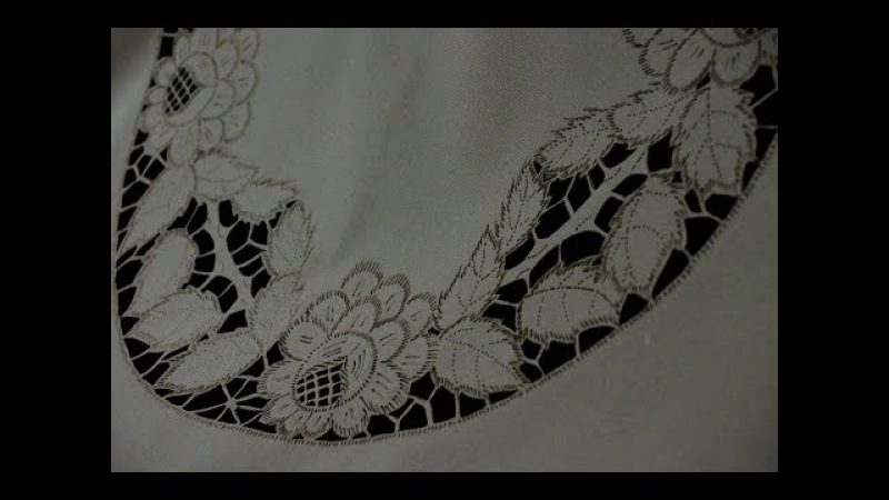 Вышивально-невышивальная скатерть | МК | Выжигание по ткани