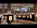 Национальная Библиотека. Выставка голограмм в Минске