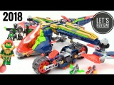 2018 LEGO Nexo Knights Aaron's X-bow 72005 - Let's Review!