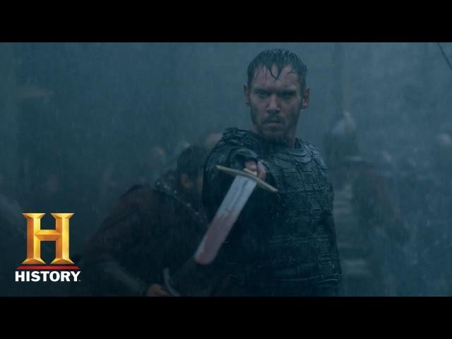 Vikings: Bishop Heahmund Meets Ivar The Boneless In Battle | 'Homeland' Premieres Dec. 6 | History