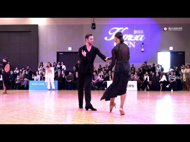 Krill Belorukov Polina Teleshova Rumba (korea open 2018)