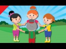Around a Circle | Action Songs for Kids | Kindergarten, Preschool ESL | Fun Kids English