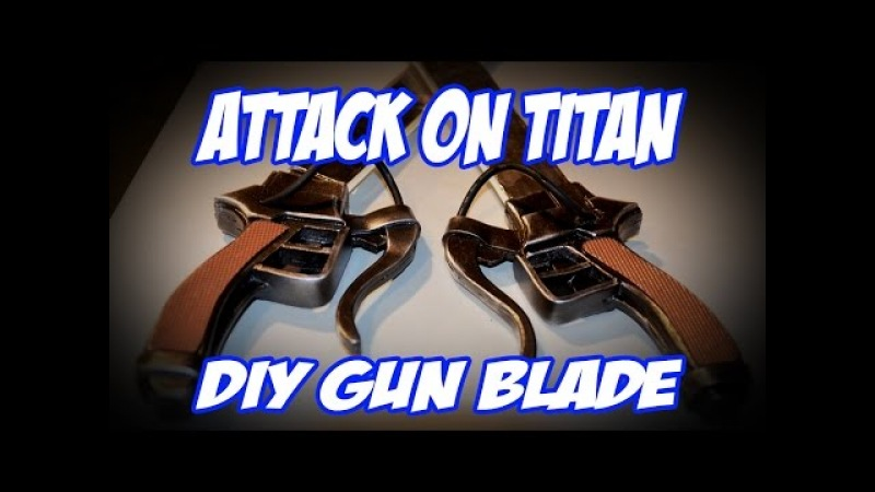 Attack on Titan How to DIY Kenn Blade Sword Tutorial