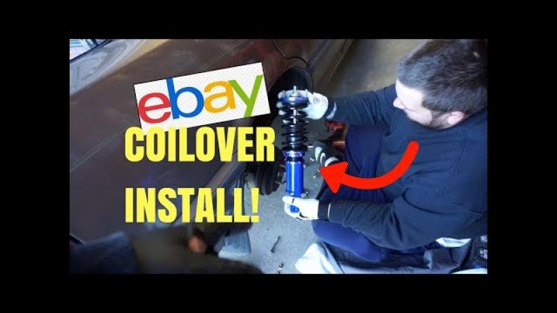 EBAY COILOVER INSTALL I EF CIVIC 4 DR I HSG EP. 6-10