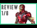 Hot Toys Iron Man Mark VI 2018 - Diecast Avengers Special Edition 1/6 review MMS378 D17