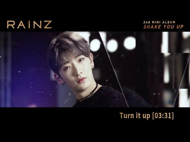 레인즈(RAINZ) - [SHAKE YOU UP] Album Preview