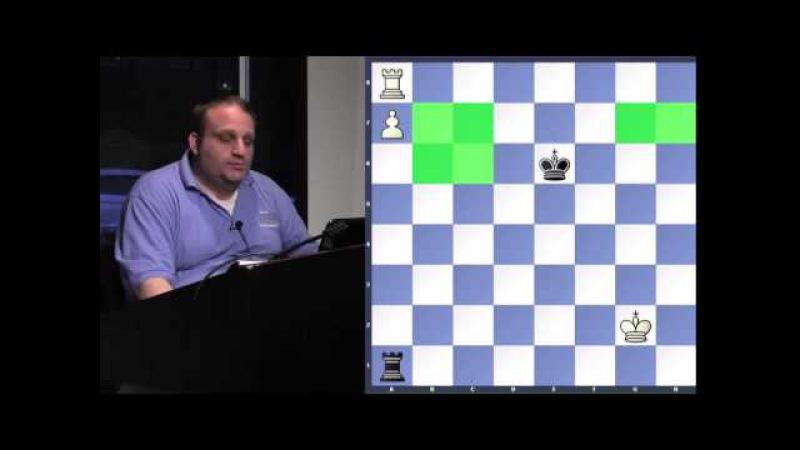 Technical King Pawn, Rook Pawn Endgames - GM Ben Finegold - 2015.06.02