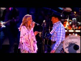George Strait When Did You Stop Loving Me Live HD with Sheryl Crow