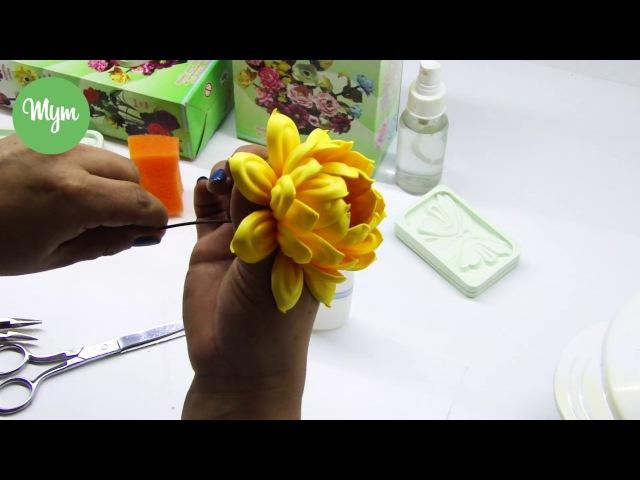 Serie Silvestre (Crisantemo) Técnicas especiales para Flores Foamy