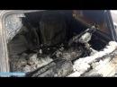 День за днем Возле деревни Кутлинка горел автомобиль