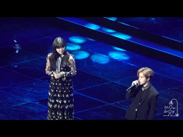 4K 180214 악동 뮤지션 AKMU 수상 공연 오랜 날 오랜 밤 with iKON 아이콘 진환Jinhwan