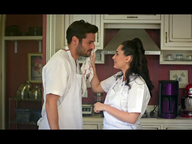 Hayatımın Aşkı 6 Bölüm Fırında romantik dakikalar