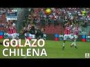 Golazo de Chilena Everaldo Stum en Queretaro vs Necaxa 1 1 2018