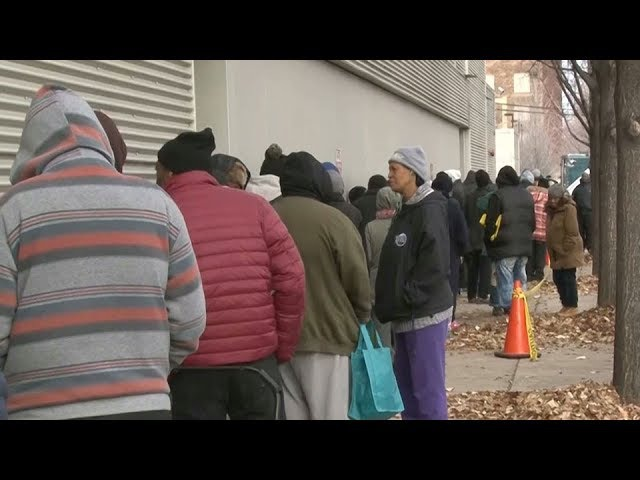 US homeless population grows for first time in seven years