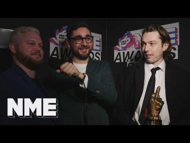Alt-J: I'd give a middle finger to cancer | VO5 NME Awards 2018