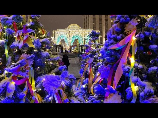 Москва 2018, Масленица, Манежная площадь, ГУМ Ярмарка