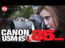 REVIEW: Canon 85mm f/1.4 USM IS L lens - featuring Sarah Seal and Lok