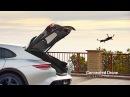 Porsche Mission E Autonomous DRONE DEMO Video Porsche Mission E Cross Turismo Geneva 2018 CARJAM