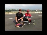 Alan Szabo Jr. and Tareq Alsaadi Sunday at the ALIGN Fun Fly 2017
