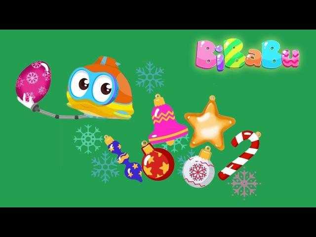 BiBaBu la parola magica: l'alga di Natale! Oscar Sottomarino e la piccola sirenetta