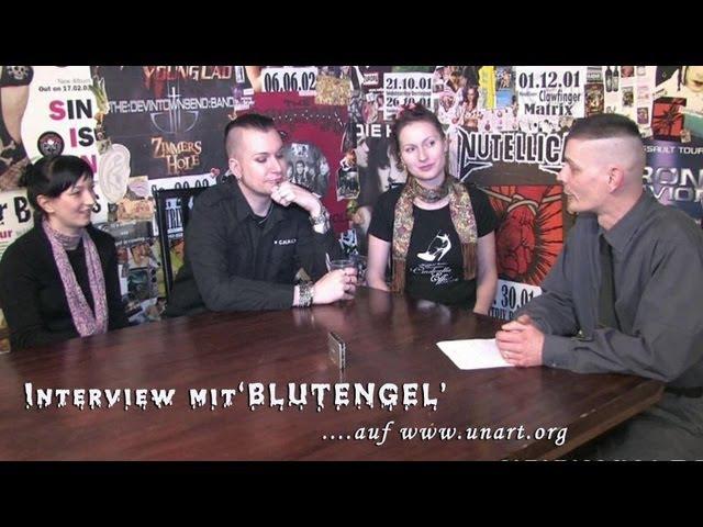 UnArt Live TV - Interview Blutengel, Matrix Bochum 2010