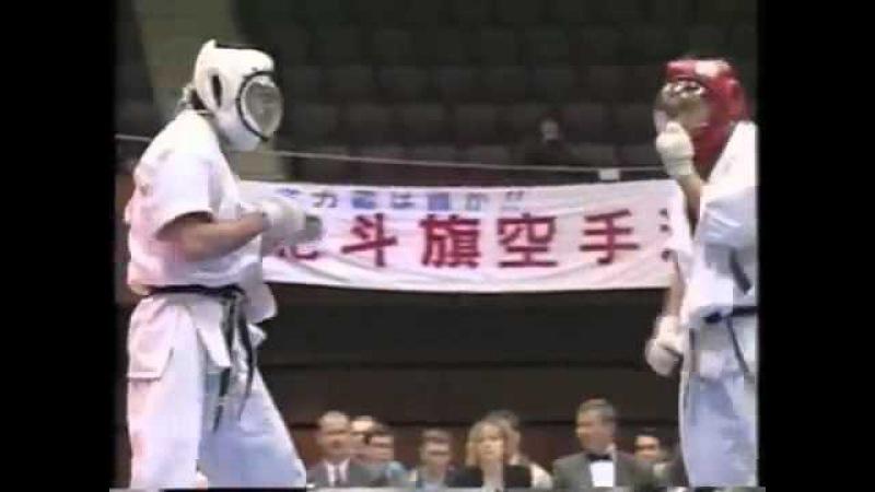KUDO / Daidojuku HOKUTOKI 1996 / Winner:Semmy Schilt (5/6)