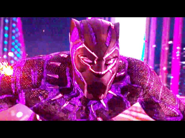 BLACK PANTHER Movie Clip - Car Chase (2018) Marvel Superhero Movie HD