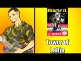 Ninja Gaiden II - Tower of Lahja ( Stage 3-2 ) On Guitar