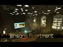 Deus Ex Human Revolution Jensen's Apartment with music 1 Hour of Ambience