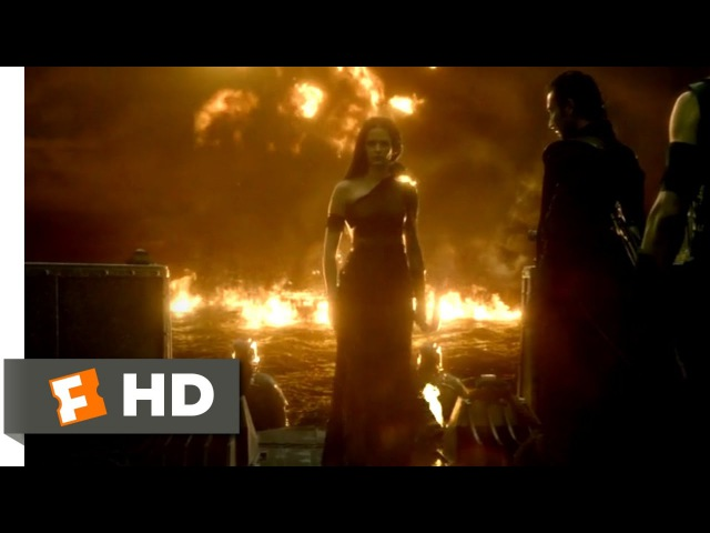 300: Rise of an Empire (2014) - Ocean of Fire Scene (7/10) | Movieclips