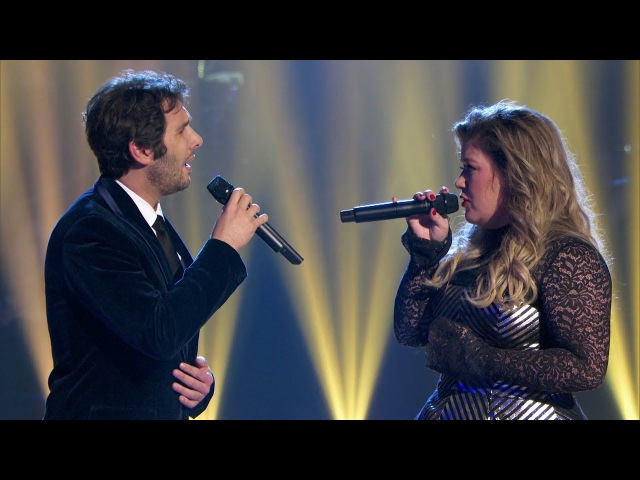 Josh Groban Kelly Clarkson - All I Ask Of You (A Home For The Holidays)