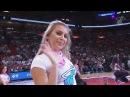 Miami Heat Dancers Performance   Rockets vs Heat   February 6, 2018   2017-18 NBA Season