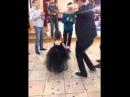 Маленькая девочка красиво танцует лезгинка