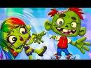 Симулятор ЗОМБИ ПИТОМЦА мультик игра для детей Выращиваем своего миленького Зомби по имени Зедд