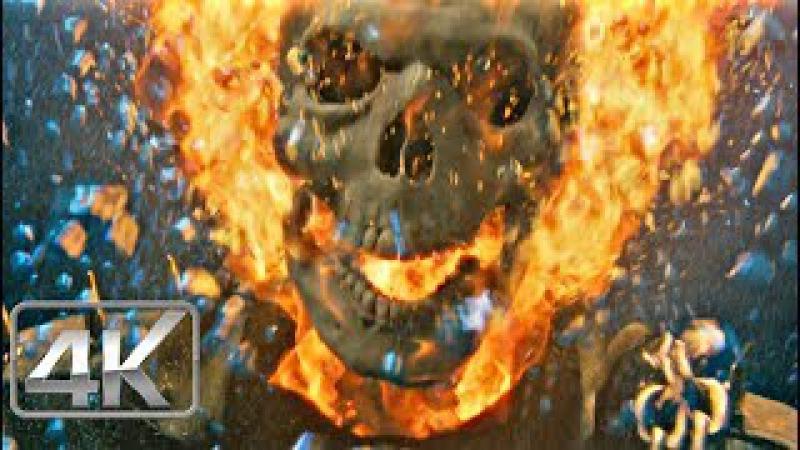 Ghost Rider Vs Wallow Sorpresa | LATINO (4k-HD) | Ghost Rider 2007