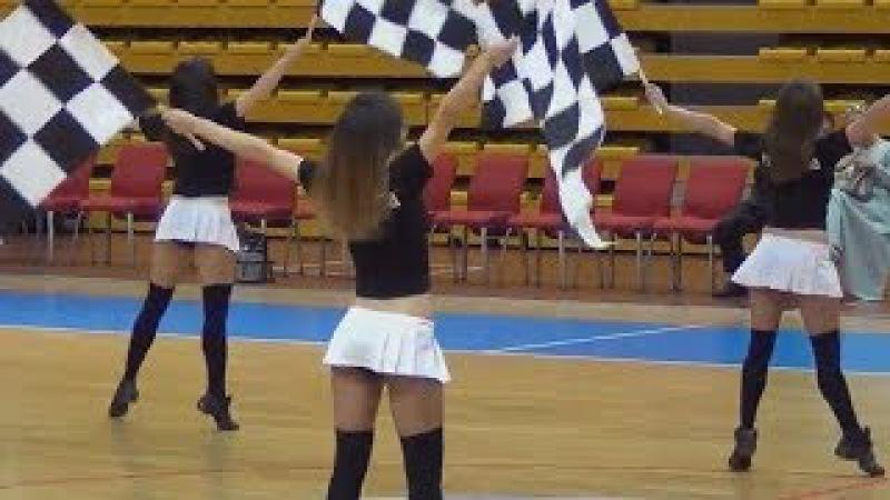 Russian cheerleaders - Finish