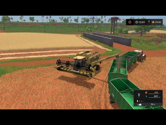 Farming simulator 17 Timelapse Estancia Lapacho Ep13