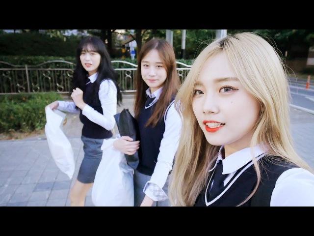 고등학생 체험기(?) ★교복★ 빌려입고 롯데월드 좀비이벤트 즐기기 ♥혜