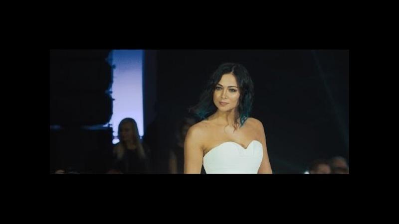 Показ свадебных платьев от Vera Wang. Настасья Самбурская. Вера Брежнева.