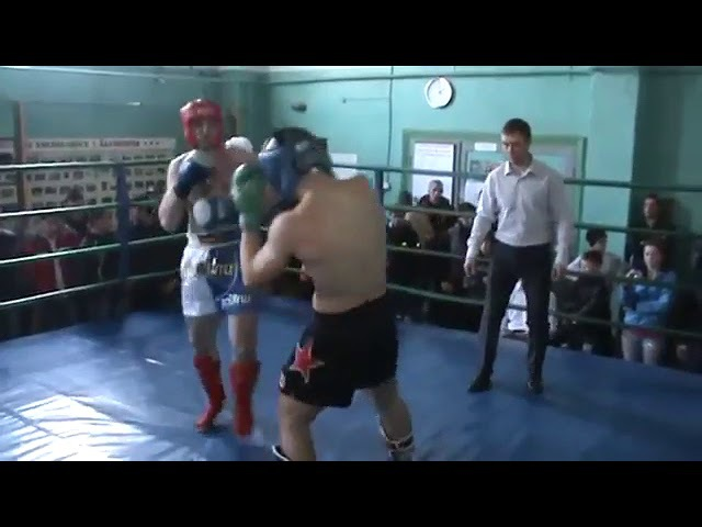 Воротилов Александр СК СКИФ, кикбоксинг, г.Бахчисарай, апрель 2013