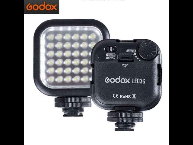 Tresh обзор №6 Godox LED36 5500-6500 Светодиодное Освещение SLR LED36