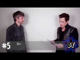 Backstage with Brandon Flowers &amp Nick JD Hodgson (ex Kaiser Chiefs)