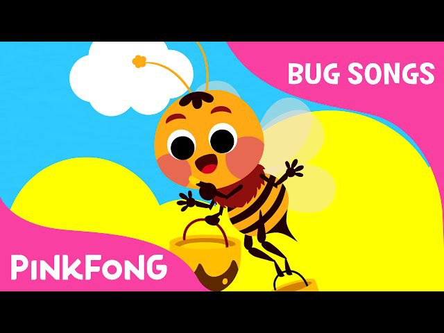 Fuzzy Buzzy Honeybees | Bug Songs | PINKFONG Songs for Children