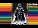 Speed Drawing Ben Affleck's Batman Jasmina Susak