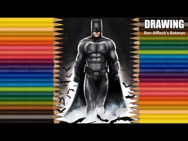 Speed Drawing Ben Afflecks Batman | Jasmina Susak