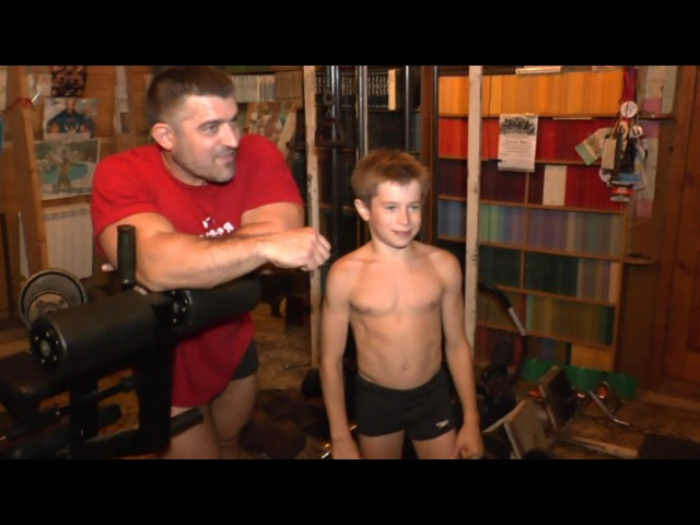 Children's Fitness -Evtukhov Dobrynya-WORLD champion-ДЕТСКИЙ ФИТНЕС-Методика тренинга