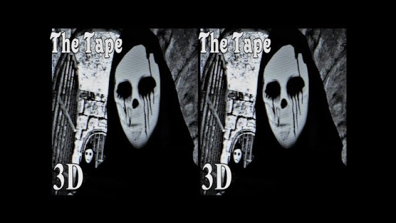 3D TV VR box horror videoThe Tape Side by Side SBS google cardboard