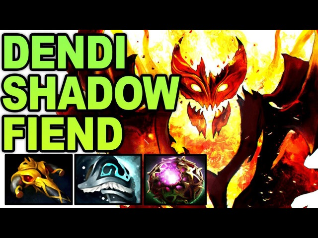 Dendi Shadow Fiend is back! What a Match 27-4-14 Gameplay - Dota 2