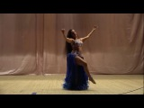 DIANA GNATCHENKO - dram solo/Dancing Flame by Artem Uzunov/ gala show of EAST SEASONS/Odessa